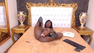 MilaCooper – Ebony Beauty Riding And Fucking