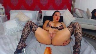 xCherryLovex – BBW In Sexy Lingerie
